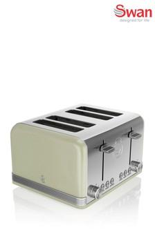 Swan Retro 4 Slot Toaster