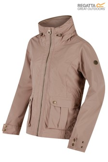 Regatta Brown Nardia II Waterproof Shell Jacket