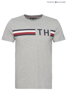 Tommy Hilfiger Grey Graphic T-Shirt