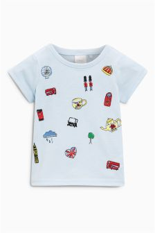 Royal T-Shirt (3mths-6yrs)