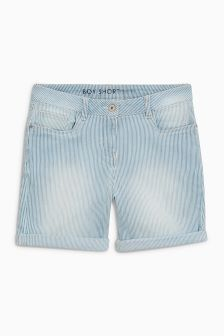 Stripe Boy Shorts