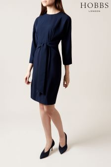 Hobbs Blue Renee Dress