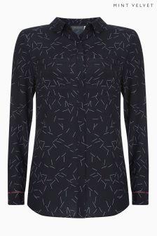 Mint Velvet Pia Print Shirt
