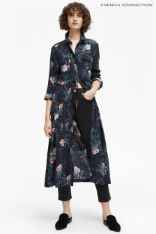 French Connection Navy Shirt Dress
