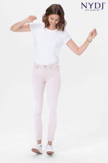NYDJ Powder Pink Alina Ankle Jean