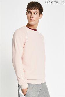 Jack Wills Pink Chalmington Sweatshirt