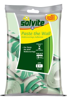 Solvite Adhesive For Paste The Wall Wallpaper