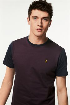 Jacquard Badge T-Shirt