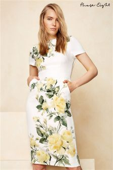 Phase Eight Ivory Nika Floral Placement Dress