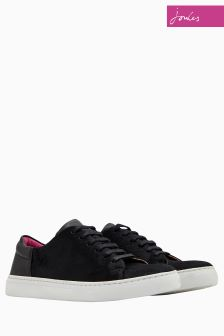 Joules Black Solena Trainer