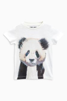 Panda Short Sleeve T-Shirt (3mths-6yrs)
