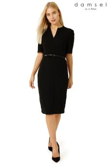 Damsel Black City Suit Dress