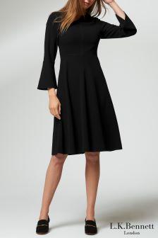 L.K.Bennett Black Caggie Dress