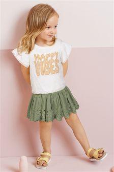 Happy Vibes Dress (3mths-6yrs)