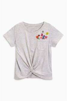 Sequin Pocket T-Shirt (3-16yrs)