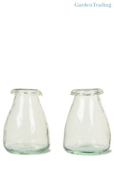 Set of 2 Garden Trading Recycled Vases