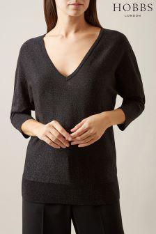 Hobbs Black Marla Sweater