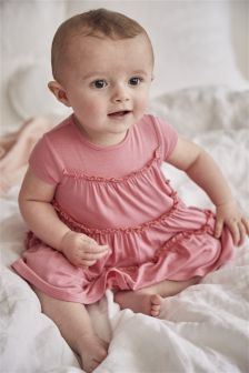 Tiered Jersey Dress (0mths-2yrs)