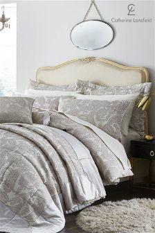 Catherine Lansfield Opulent Jacquard Bed Set