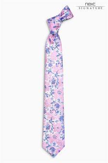 Signature Floral Tie