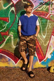 Karen Millen Red Travelling Frill Dress
