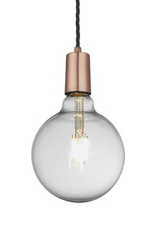 Industville Sleek Edison Copper Wire Pendant