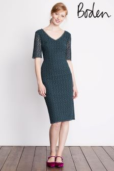 Boden Ink Pot Carin Lace Dress
