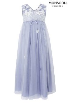 Monsoon Blue Lilly Maxi Dress
