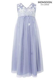 Monsoon Blue Lilly Maxi Dress