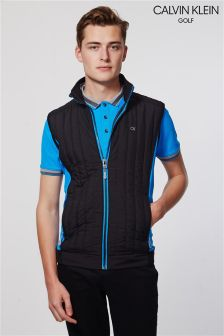 Calvin Klein Golf Black Cyclone Padded Gilet
