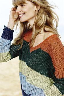 Stitch Stripe Sweater