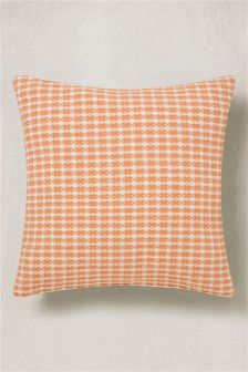 Mini Geo Jacquard Square Cushion