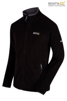Regatta Black Stanton II Mid Weight Full Zip Fleece