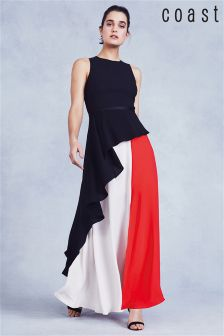 Coast Multi Piper Colourblock Maxi Dress