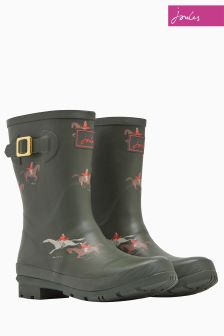 Joules Olive Horse Molly Welly