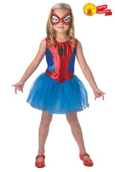 Rubies Blue Spider-Girl Fancy Dress Costume