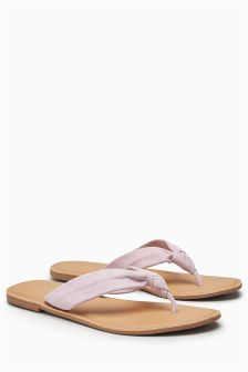 Knot Toe Post Sandals