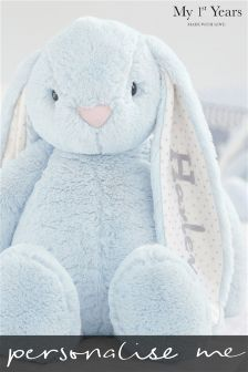 Personalised Bunny Soft Toy By My 1st Years