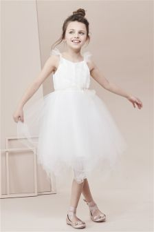 Wrap Tulle Dress (3-16yrs)