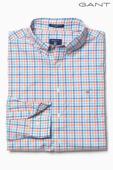 GANT 3 Colour Broadcloth Gingham Shirt