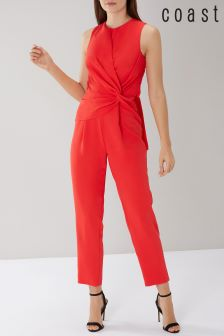 Coast Red Izobel Jumpsuit