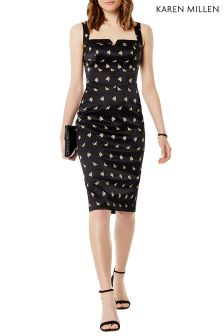 Karen Millen Boned Bardot Dress