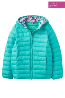 Joules Bright Aqua Packaway Jacket