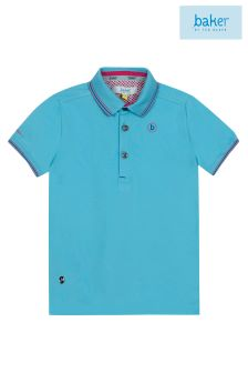 baker by Ted Baker Bright Blue Polo