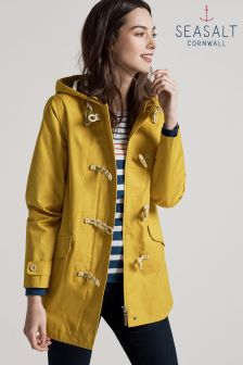 Seasalt Long Seafolly Jacket Mustard