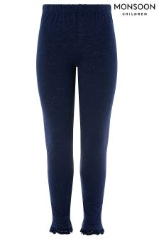 Monsoon Blue Tilly Frill Legging