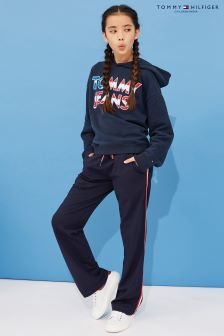Tommy Hilfiger Girls Blue Track Pant