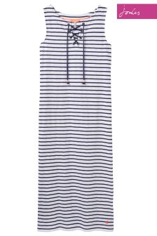 Joules Cream Stripe Anita Dress