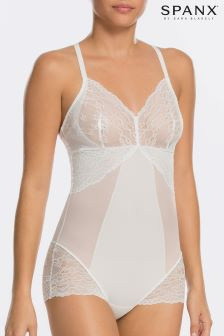 SPANX® Spotlight On Lace Clean White High Waisted Brief