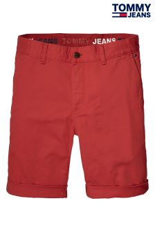 Tommy Jeans Red Basic Freddy Short